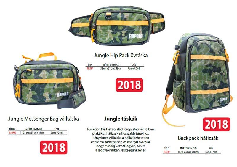 Rapala Jungle táska szett - 6147397 - Fogas Sport- 386e340c77